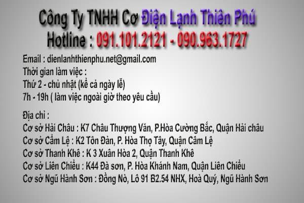 Địa chỉ Điện Lạnh Thiên Phú Đà Nẵng