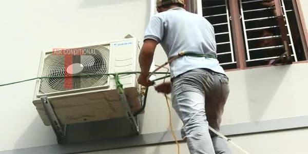 Tháo lắp máy lạnh bình tân