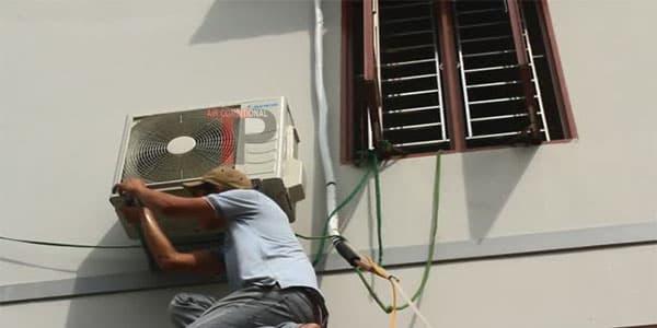 Tháo lắp máy lạnh thủ đức